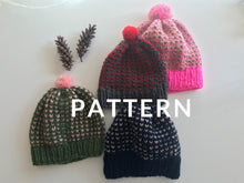 Load image into Gallery viewer, Happy Hat - PATTERN- Dream (Merino Worsted)