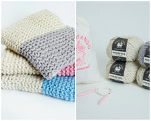Load image into Gallery viewer, DIY Kit - Her Baby Blanket - Merino No. 5