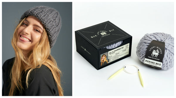 DIY Box Kit - Her Beanie - Merino No. 5