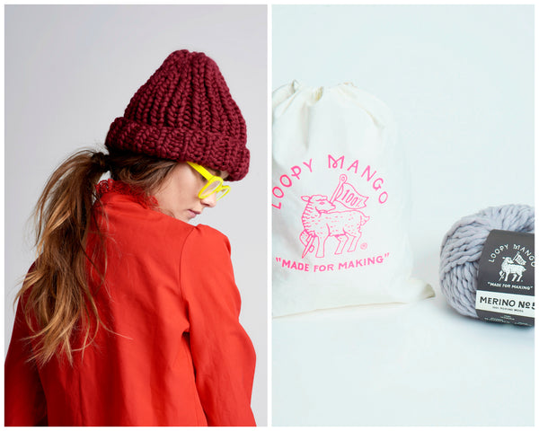 DIY Kit - Her Beanie - Merino No. 5