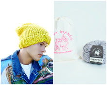 Load image into Gallery viewer, DIY Kit - Slouchy Beanie - Men's - Merino No. 5