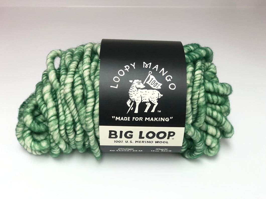 DISCONTINUED COLOR - Big Loop 10oz. Mini Merino Wool - Emerald