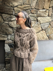 DIY Kit - Off the Shoulder Sweater - Merino No. 5