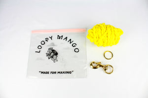 Pom Pom Keychain DIY Kit - Merino No. 5