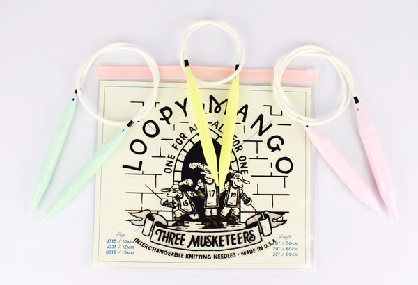 Three Musketeers Interchangeable Knitting Needle Set