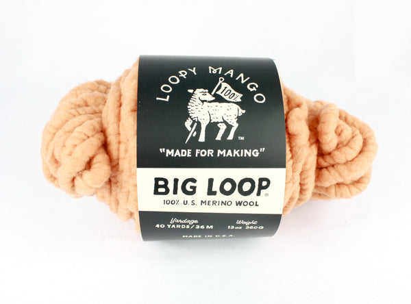DISCONTINUED COLOR - Big Loop Mini Merino Wool - Sahara