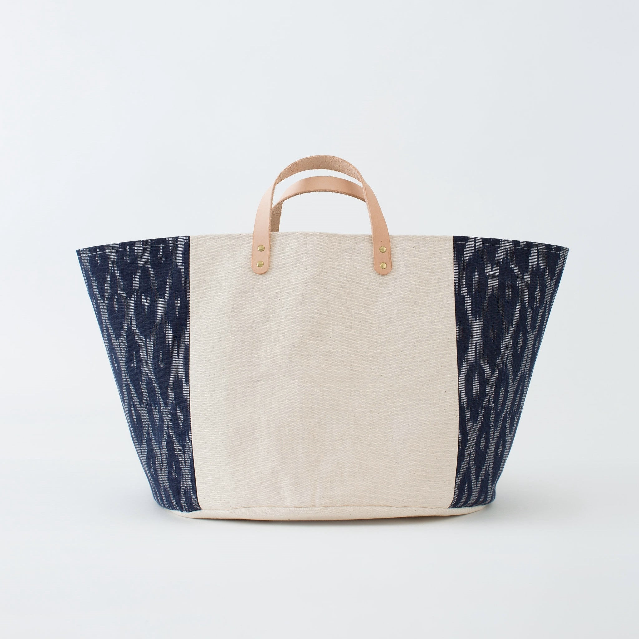 Good Company Canvas Basket - Indigo