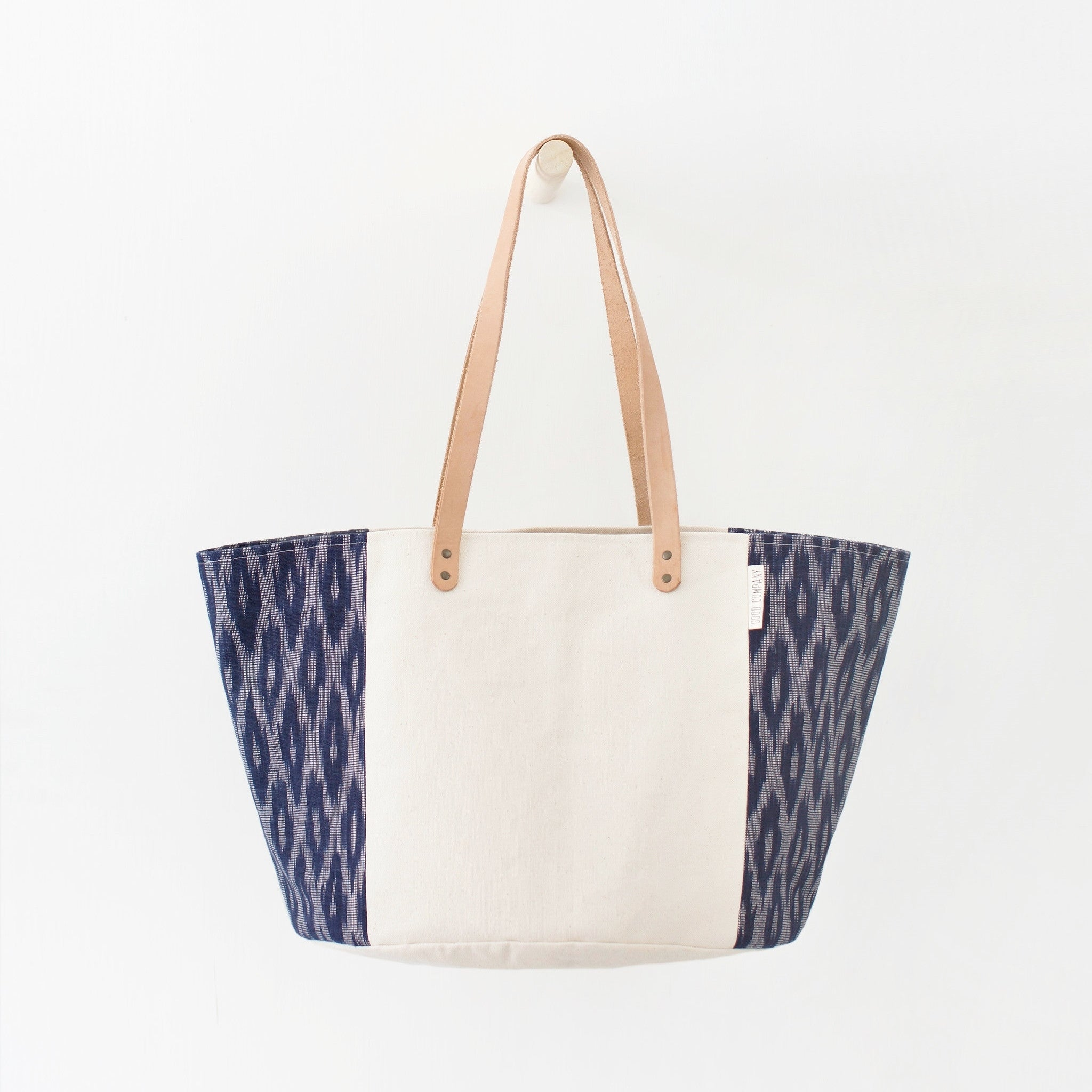 Good Company Canvas Tote - Indigo