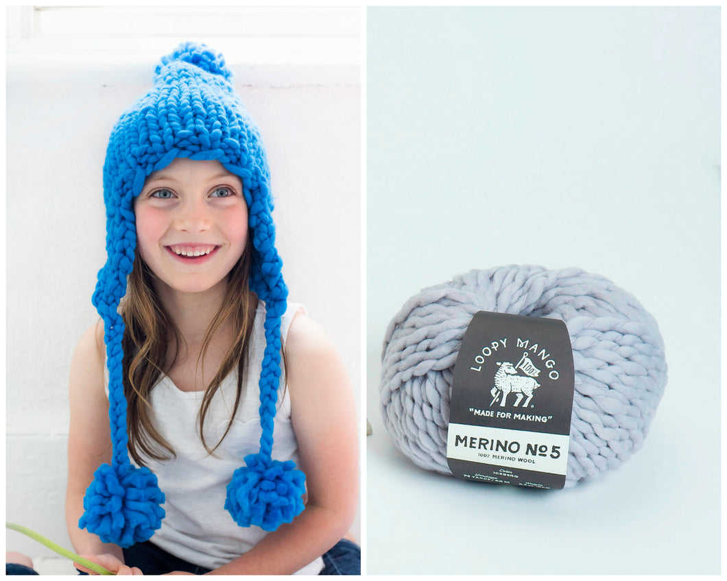 DIY Kit - Mini Aviatrix Hat - Merino No. 5