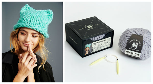 DIY Box Kit - Kitty Hat - Merino No. 5