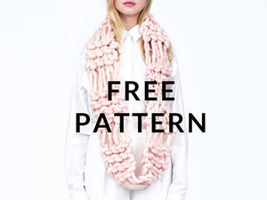 FREE Liberty Fair Cowl - PATTERN - Big Loop