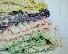 Load image into Gallery viewer, Little Loopy Blanket - Merino