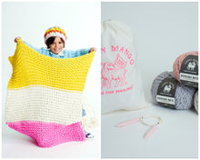 Load image into Gallery viewer, DIY Kit - Little One's Blanket - Merino No. 5