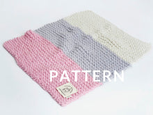 Load image into Gallery viewer, Little One's Blanket PATTERN- Merino No. 5