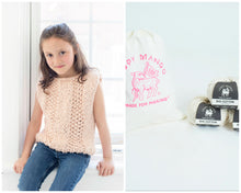 Load image into Gallery viewer, DIY Kit - Mini Always Summer Top - Big Cotton