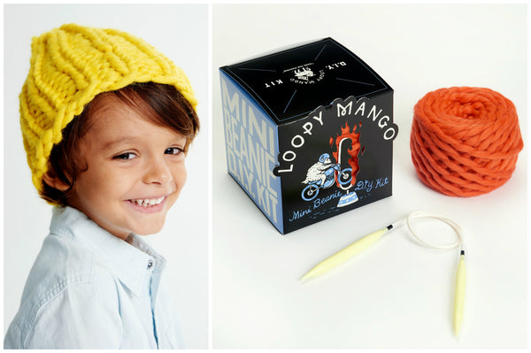 DIY Box Kit - Mini Beanie 1-4 years old - Merino No. 5