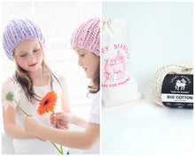 Load image into Gallery viewer, DIY Kit - Mini Beanie - Big Cotton