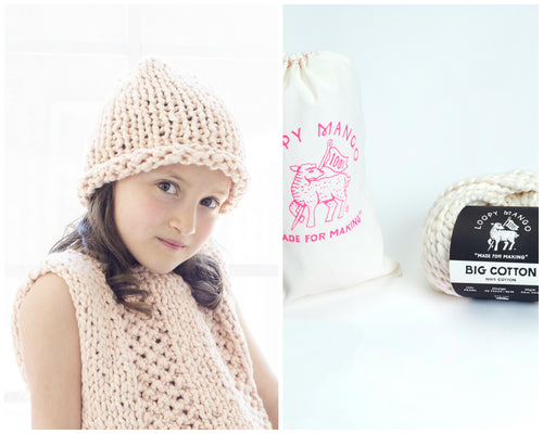 DIY Kit - Mini Everyday Beanie - Big Cotton