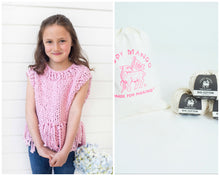 Load image into Gallery viewer, DIY Kit - Mini Tank Top with Fringe - Big Cotton