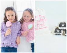 Load image into Gallery viewer, DIY Kit - Mini Sweater - Big Cotton