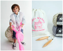 Load image into Gallery viewer, DIY Kit - Mini Vest 2-4 years - Merino No. 5
