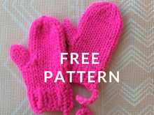 Load image into Gallery viewer, FREE Holiday Mittens PATTERN - Merino No. 5