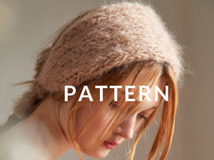 Mohair Headband- PATTERN - Mohair So Soft