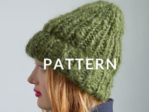Mohair Beanie- PATTERN - Mohair So Soft
