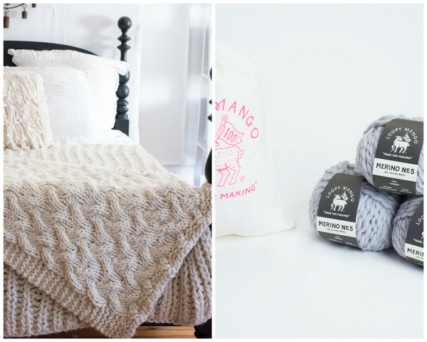 Throws, Pillows, Rugs & Baskets DIY | Loopy Mango