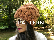 Load image into Gallery viewer, My First Cable Hat PATTERN - Merino No. 5