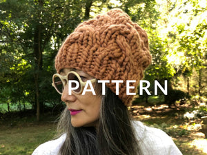 My First Cable Hat PATTERN - Merino No. 5