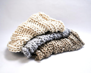 Nantucket Throw - Merino