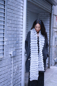FREE New Yorker Scarf - PATTERN - Big Loop