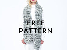 Load image into Gallery viewer, FREE New Yorker Scarf - PATTERN - Big Loop
