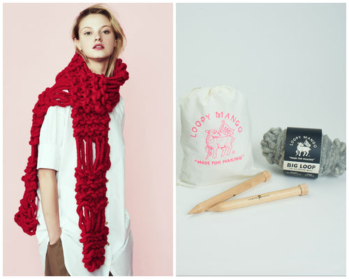 DIY Kit - Parisienne Scarf - Big Loop