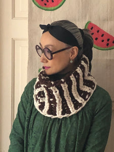DIY Kit -Brioche Cowl - Merino No. 5