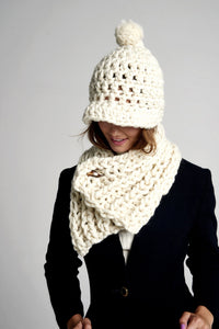 READYMADE Fisherman Rib Neck Warmer - Merino-SALE