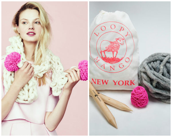 DIY Kit - The Pom Pom Scarf