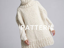 Load image into Gallery viewer, Poncho PATTERN- Merino No. 5
