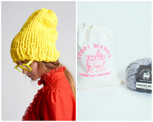 Load image into Gallery viewer, DIY Kit - Slouchy Beanie - Merino No. 5