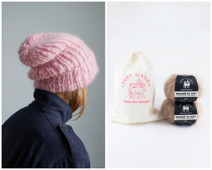 DIY Kit - Slouchy Beanie - Mohair So Soft