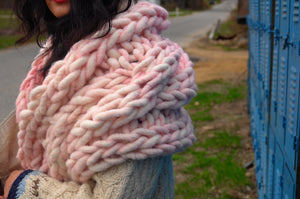 READYMADE St. Barth Cable Shawl - Merino-SALE