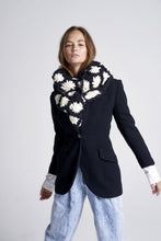 Load image into Gallery viewer, Aster Flower Scarf - Merino