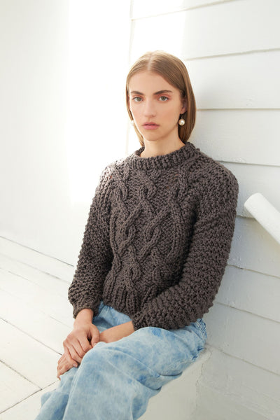 Urban Fisherman Sweater - Cotton