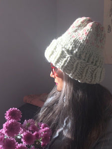 Edelweiss Hat with 2 colors - Merino