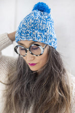 Load image into Gallery viewer, DIY Kit - Mixed Pompom Hat - Merino Worsted