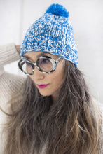 Load image into Gallery viewer, DIY Kit - Mixed Pompom Hat - Dream (Merino Worsted)
