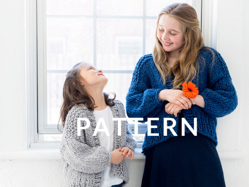Mini Cardi PATTERN- Big Cotton