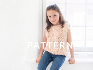 Mini Always Summer Top PATTERN- Big Cotton