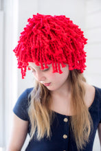 Load image into Gallery viewer, Mini Fringe Beanie PATTERN- Big Cotton